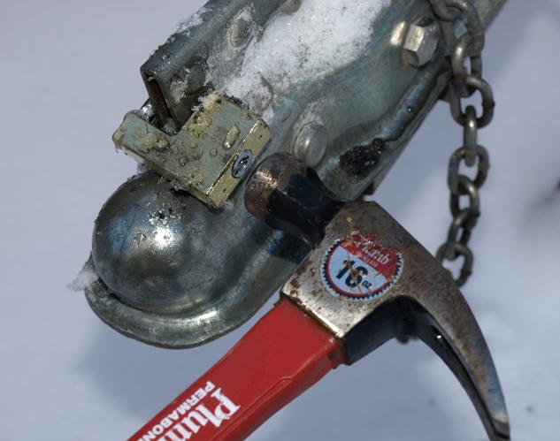 Coupler Lock Hammered