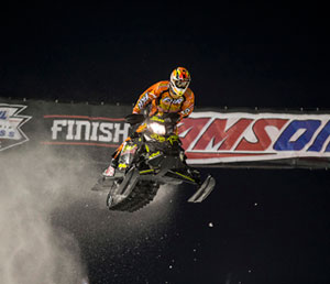 David Joanis Canterbury Park Snocross