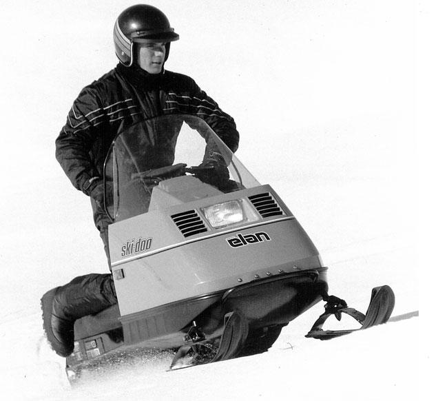 Vintage Elan Snowmobile