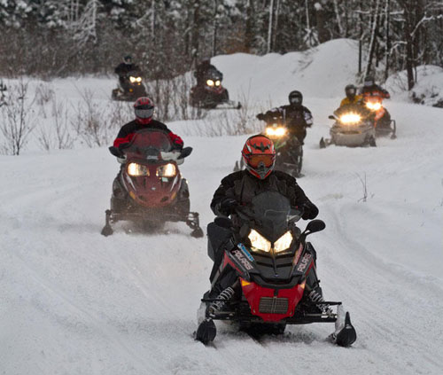 Kearney snowmobile trails