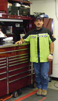 Hands-on experience allows Erik Woog to understand his snowmobiling customers.