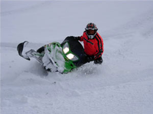 Powder rider Erik Woog knows how to custom build mountain sleds from firsthand experience.