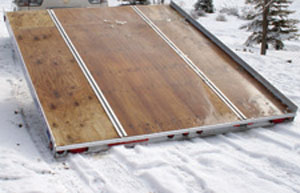 Floe Versa-Track Snowmobile Trailer