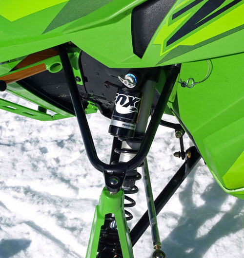 Fox QS-3 on Arctic Cat ZR