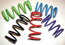 Goodwin offers primary springs made of the highest quality chrome silicone wire that is designed for long lasting durability. (Image courtesy of Goodwin Performance)