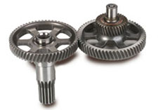 Goodwin's Arctic Cat ACT Drive Gear Set is cut from billet steel and heat treated for strength and durability. (Image courtesy of Goodwin Performance)