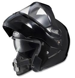 Special technology comes standard with HJC's flip-open modular helmet. (Image courtesy of HJC Helmets)