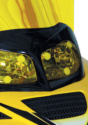Holeshot Lightshield Headlight Covers