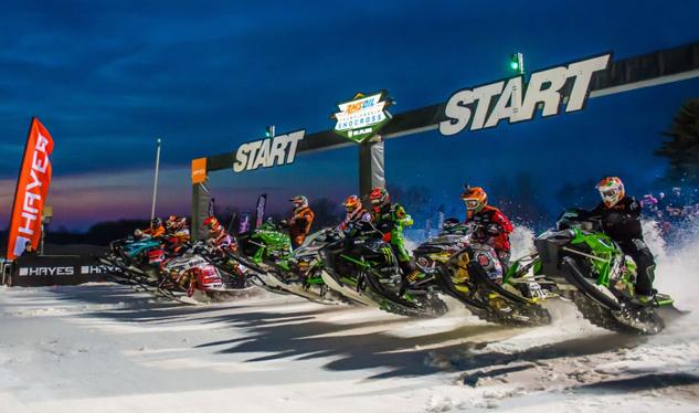 AMSOIL Championship Snocross Start