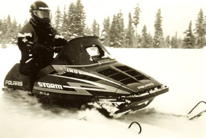 Polaris failed to take the sport by Storm in the early 1990s.
