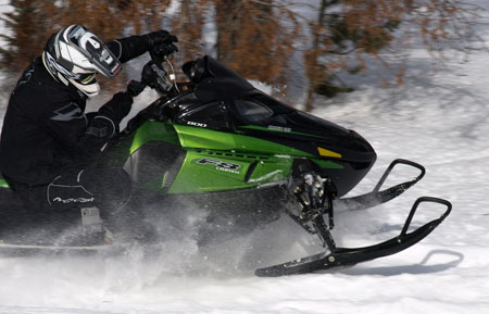 Boost your Arctic Cat�s on-trail response by adding some aftermarket goodies this summer.