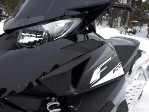 "The ""priced right"" Arctic Cat/Suzuki 1100cc 4-stroke will compete against the Polaris Cleanfire and Ski-Doo E-TEC 600cc two-strokes."