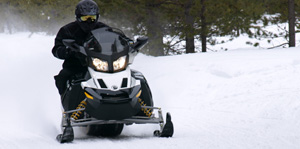In the recent past, Arctic Cat's 1100cc 4-stroke only had to campaign against sleds like Ski-Doo's 1200 four-stroker.