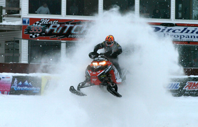 Eagle River Snowmobile Derby Snocross