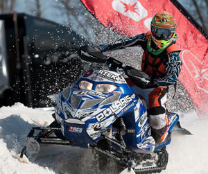 Kody Kamm Polaris Snocross Racing