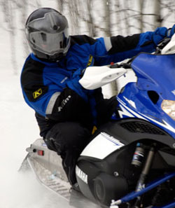 All sled manufacturers offer a variety of helmets and accessories to match their sleds.