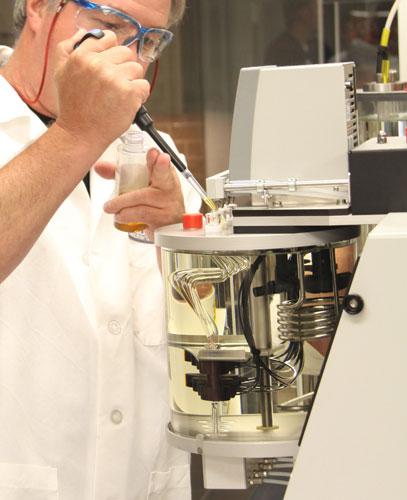 Lab Technician Oil Blending