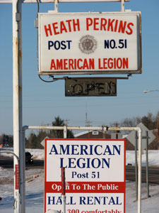 Fittingly, the American Legion and VFW clubs hosted the MN-USA veterans.