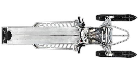 2016 Polaris 800 Pro-RMK Chassis Overhead