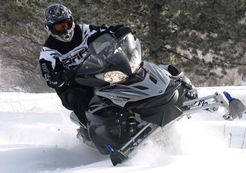 Modern Yamaha Snowmobile