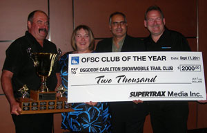 OFSC Club of the Year Award