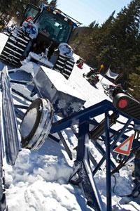 Ontario Snowmobile Trail Groomer
