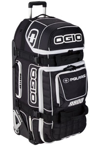 Polaris offers a new rolling duffel bag made by Ogio.