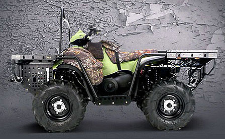 Is there a commercial future for Polaris' multi-fuel Patriot engine used to power military ATVs?