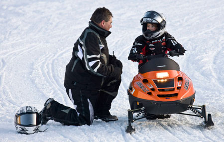 Polaris 120 Assault Youth Snowmobile