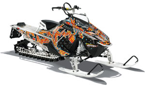 Polaris Burandt Khaos Snowmobile Wrap