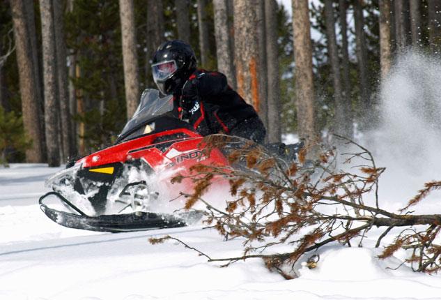 Polaris Indy SP Trail Action