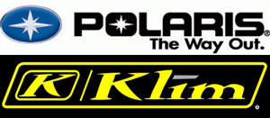 Polaris and KLIM Logos