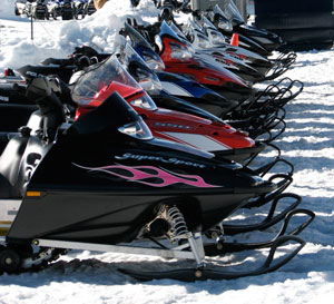 Polaris Super Sport Snowmobiles