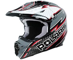 Pure Polaris Carbon Snowmobile Helmet