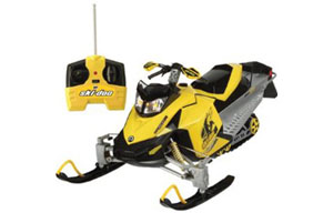 Interactive Toy RC Snowmobile Ski-Doo