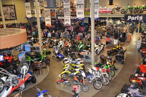 Rexburg Motorsports Showroom