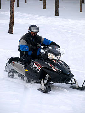 Whether its 1975 or 2008, snowmobiles are designed for safe, durable fun.
