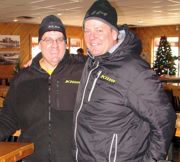 Steve and Robb Dubbs