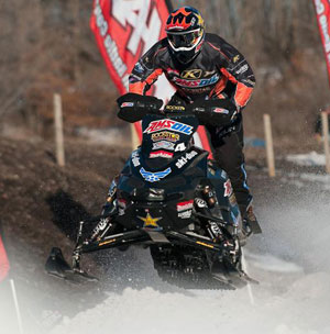 Robbie Malinoski ERX Snocross National