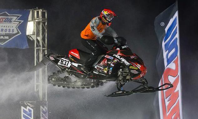 Ross Martin Canterbury Snocross