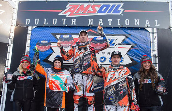Ryan Springer Duluth Snocross