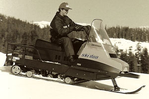 Ski-Doo�s Alpine was a grunt worker on ski slopes and for grooming feeder trails. In some places it still is.