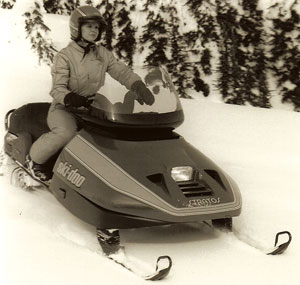 By the time Generations Next was born, the Ski-Doo Stratos with its strut suspension was a memory.