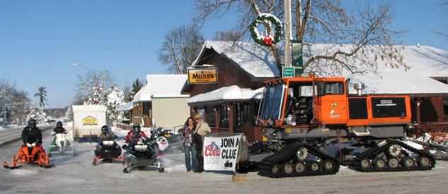 SNOW Film Fest Snowmobile Riders