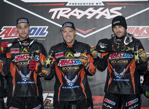 Darrin Mees, Robbie Malinoski, and Tim Tremblay