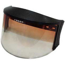 A long time manufacturer of snowmobile shields and goggles, Seer offers a flip-up design with gradient tint. (Image courtesy of Seer)