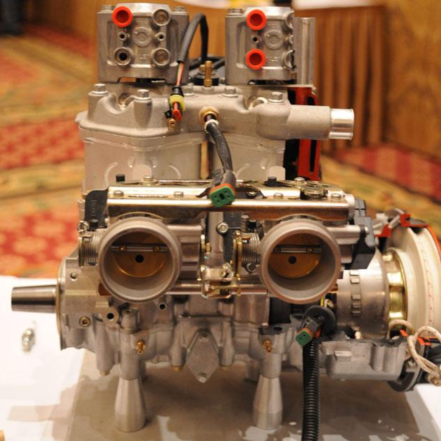 Rotax 600 HO E-TEC Rear