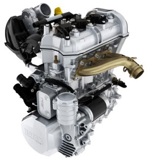 Ski-Doo 900 ACE Engine