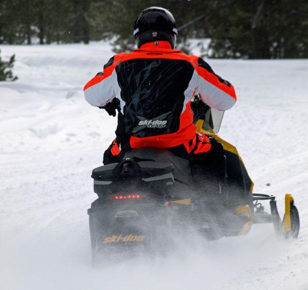 Ski-Doo Snowmobile Rear
