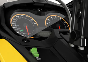Ski-Doo Eco Driving Modes
